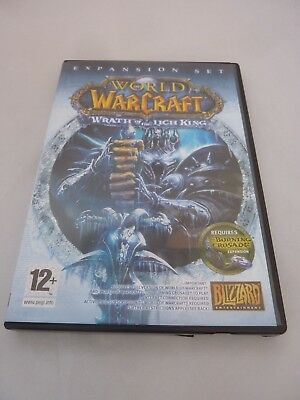 World of Warcraft PC DVD ROM x 1 Wrath of the Lich King