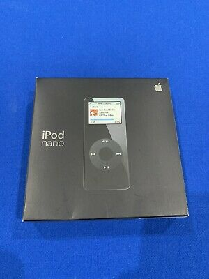 iPod Nano 1st Generation Black 2GB, Factory Sealed Rare and unopened - RARE!