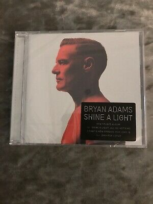 Bryan Adams - Shine A Light - CD Album (Released 1st March 2019) Brand New.