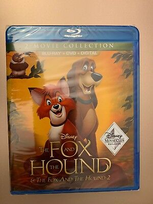 The Fox And The Hound 2-Movie Collection (Blu-ray + DVD + Digital) Exclusive