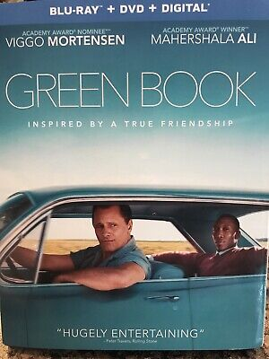 Green Book Ali Mortensen 2018 Movie Blu Ray And Digital Only. No DVD