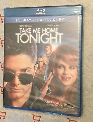 Take Me Home Tonight (Bluray) Brand New! Topher Grace | Anna Faris