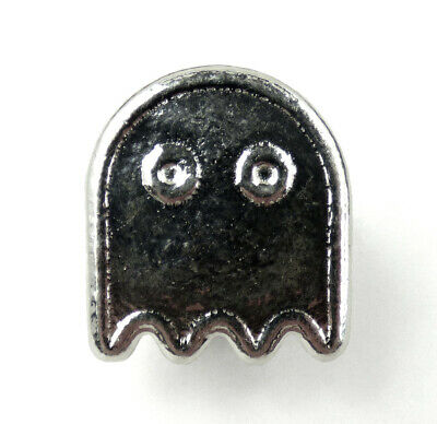 YPS Yeagers Poured Silver PAC-MAN Ghost 1 oz .999 Fine Silver Bar