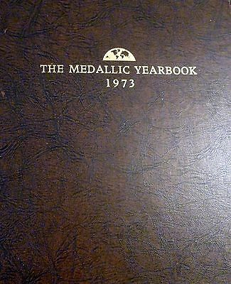Franklin Mint Medallic Yearbook 12 Sterling silver 1973 Rare
