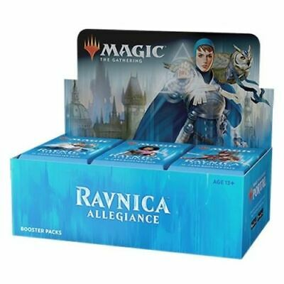Magic: the Gathering MTG RAVNICA ALLEGIANCE REPACKED BOOSTER BOX 36 PACKS + 250