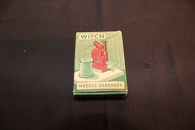 Vintage WITCH Needle Threader in ORG Box