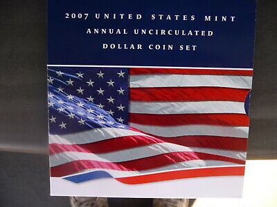 2007 6-piece Annual Uncirculated Dollar Coin Set