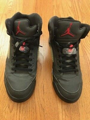 info for 57638 ad1bd Nike Air Jordan V Retro DMP Five Raging Bull Toro Bravo Pack 3M Size 11  Black