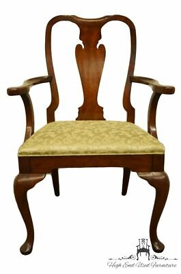 HICKORY CHAIR James River Mahogany Queen Anne Dining Arm Chair