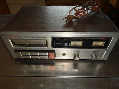 Craig Pioneer H260 8 Eight Track Stereo Recorder Tape Deck  TESTED