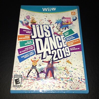 JUST DANCE 2019 Nintendo Wii U video game!! BRAND NEW!! Factory Sealed!!