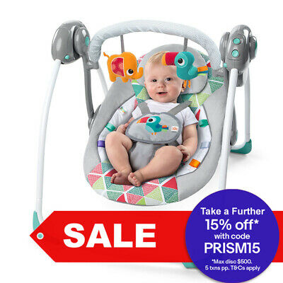 Bright Starts Newborn Baby/Infant Bouncer Rocking/Chair Toys Lullaby/Music 0m+