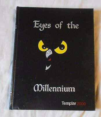 2000 THE TEMPLAR Temple University Philadelphia PA Yearbook