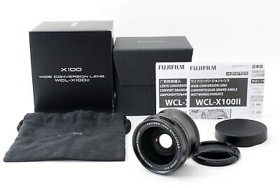 【Exc+++++】Fujifilm WCL-X100 II Wide Conversion Lens Black from Japan 383257
