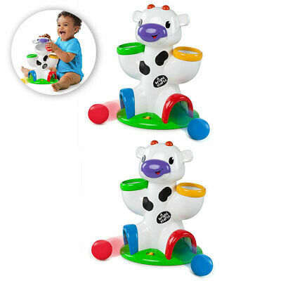 2x Bright Starts Drop/Giggle Cow Fun/Toy Toddler Animals Toys Baby/Infant Music
