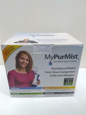 MyPurMist Handheld Personal Steam Inhaler Natural Relief Sinus My Pure Mist *NEW