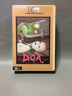 Rare D.O.A. A Right Of Passage Beta Betamax Punk Rock Documentary Sex Pistols
