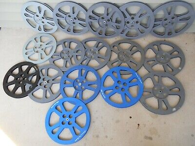 16mm 1600 foot plastic reels  -  Box of 16 reels  CHEAP