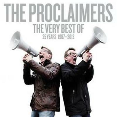 Proclaimers The Very Best of 25 Years 1987-2012 2 CD NEW