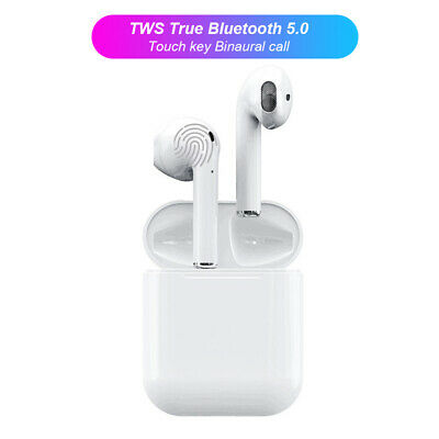 i12 TWS Mini Wireless Bluetooth Earphone Touch Control Earbuds with Charging Box