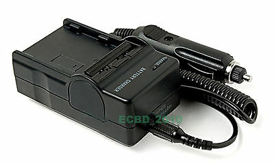 Battery Charger for CANON REBEL XTi EOS 400D CB-2LW CB-2LWE  NB-2L NB-2LH Camera