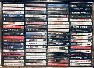 YOU PICK Cassette Tapes Rock Pop Oldies Country Rap Soundtracks BUY MORE & SAVE