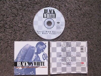 "V/a ""black On White Great R&b Covers Of Rock Classics"" 1993 18Trx.nm Oop Comp Cd"