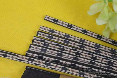 10*Guitar Strip inlays 640*6*1.0mm Luthier Figured Purfling Guitar Binding #S59
