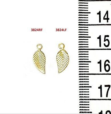 14k Gold Filled 7.3x5.5mm Oval Quality Tag Charms W//Ring 4pcs  #6406-3