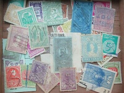 ESTATE: Australia Stamp Duties in box unchecked unsorted as received  (s818)