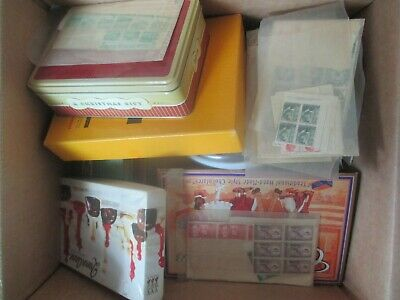 ESTATE: World in box unchecked unsorted as received Noted Pre dec mint  (b241
