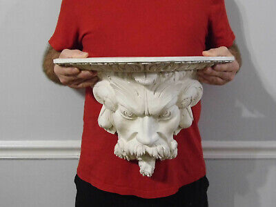 "Vintage Large Bacchus Wall Sconce Shelf 11 3/4"" #2"