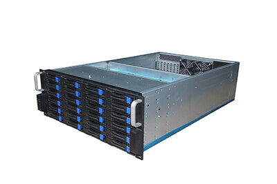 Rack Mount Server Case/Chassis (24 Bay) TGC-4824 with PWM fans and slide rails