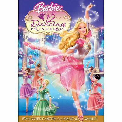 Barbie in the 12 Dancing Princesses (DVD, 2006) DISC IS MINT