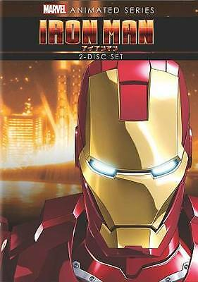 Iron Man: The Complete Animated Series (DVD, 2012, 2-Disc Set) BRAND NEW SEALED