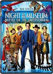 Night at the Museum: Battle of the Smithsonian (DVD, 2009) GOOD
