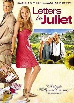 Letters to Juliet (DVD, 2010, Canadian) DISC IS MINT