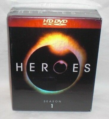 HEROES - THE COMPLETE FIRST SEASON 1 ONE 7-Disc HD DVD Set NEW & SEALED