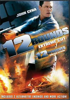 12 Rounds (DVD, 2009, Canadian Rated/Unrated) VERY GOOD