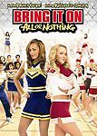 Bring It On: All or Nothing (DVD, 2006, Widescreen) GOOD