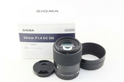 Near Mint SIGMA Contemporary 30mm F1.4 DC DN For SONY E mount