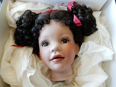 """Bisque Doll Kit - 20"""" Tamika - With Instructions"""