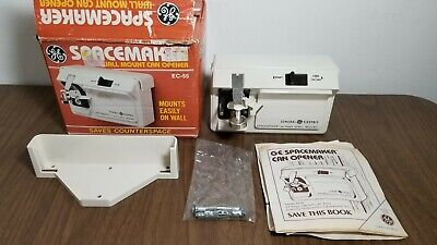 GE EC-55 Spacemaker Wall Mount Electric Can Opener General Electric
