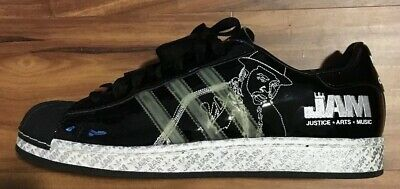 brand new a4c61 b8b5d RARE LIMITED EDITION Adidas Superstar 1's Run DMC Jam Master Jay Men Size  10.5