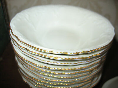 Rosenthal Classic  Sanssouci Ivory/Gold Medium Cereal Bowl Extremely Rare
