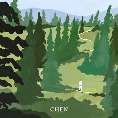 EXO Chen[April, And A Flower]1st Mini April Ver CD+Poster+Booklet+Card+Mark+Gift