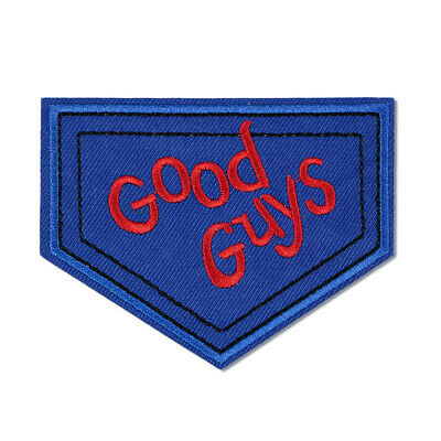 Good Guys Embroidered Patch Badge Iron on Horror Movie Child's Play Doll Costume