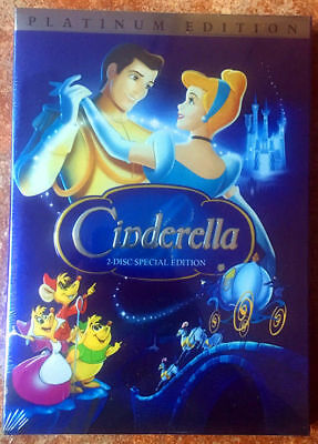 Cinderella (DVD, 2005, 2-Disc Set, Special Edition - DVD Platinum Collection)1