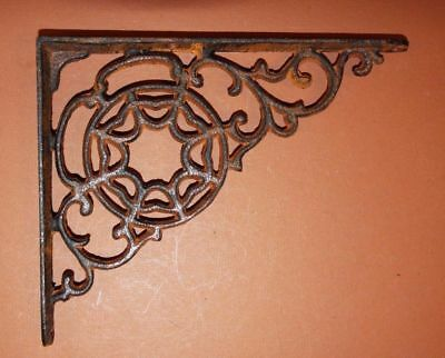 (2)pcs, Spider Shelf Decor, Spider web Shelving, Cast Iron Shelf Brackets, B-7