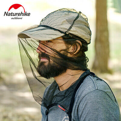Outdoor Anti-Mosquitoes Head Net Bees Insect Mesh Mask Camping Fishing Cap Cover
